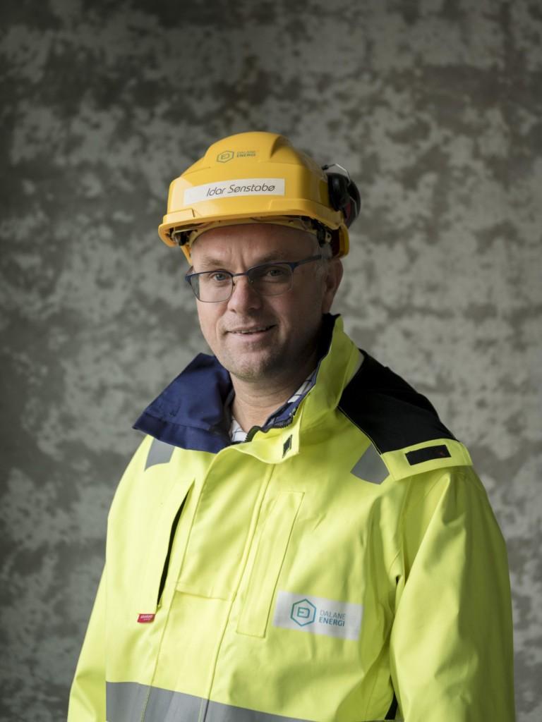 Idar Sønstabø i Dalane Energi