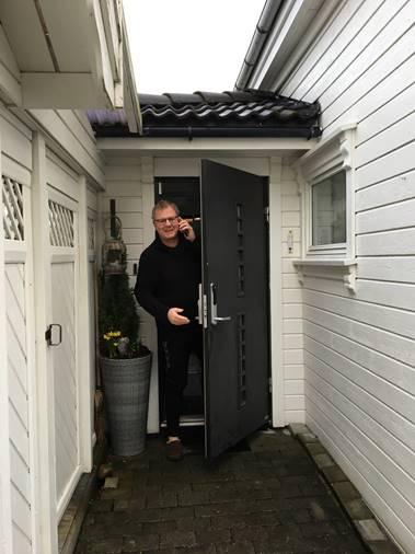 Avdelingsleder for drift og vedlikehold Bjørn Sviggum hos Dalane Nett,